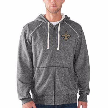 - New Orleans Saints Victory Mock Full Zip Hoodie