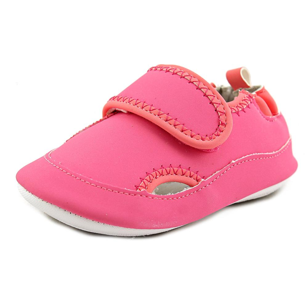 Robeez Wendy Infant Round Toe Synthetic Pink Mary Janes by Robeez