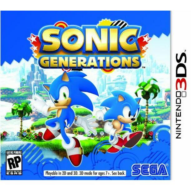 Sonic Generations 3ds Walmart Com Walmart Com