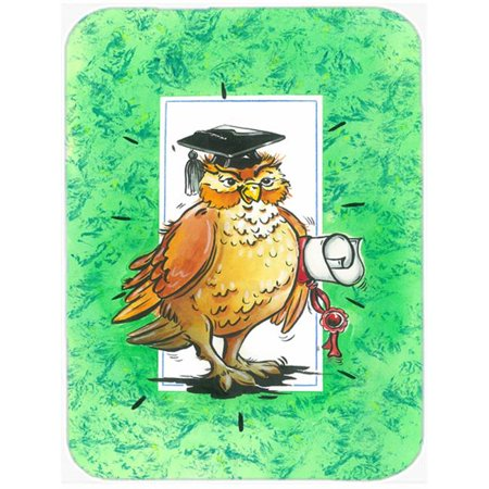Graduation the Wise Owl Mouse Pad, Hot Pad or Trivet