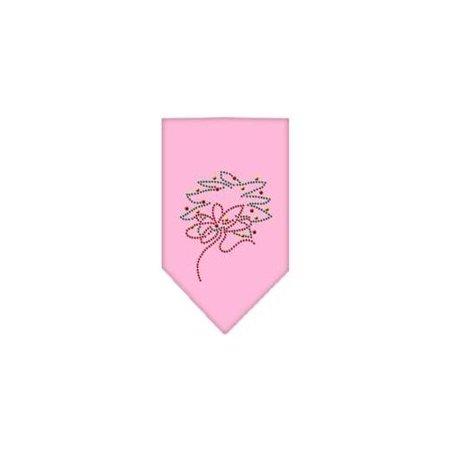 Wreath Rhinestone Bandana Light Pink - Bandana Wreath