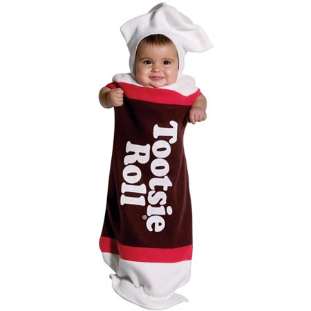 tootsie roll bunting infant halloween costume size 0 6 months - Walmart Halloween Costumes For Baby