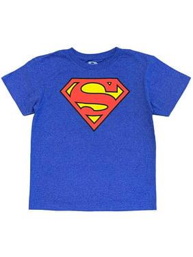 Superman Boys' Classic Logo Tee