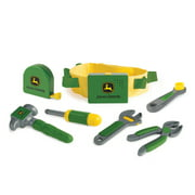 John Deere Deluxe Talking Toolbelt Set With Tool Sounds and Phrases, 7 Pieces