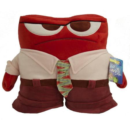 "Disney Inside Out ""Anger"" 12""x12"" Pillow Buddy"
