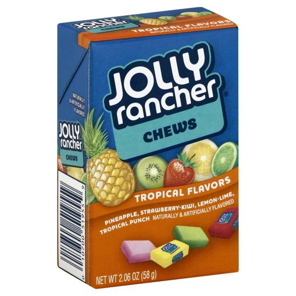 Hershey Foods Jolly Rancher  Chews, 2.06 oz