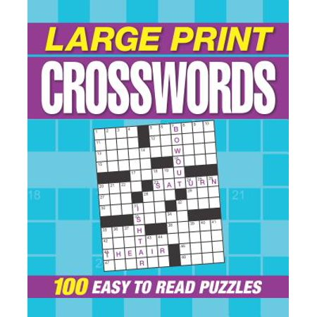 Large Print Crosswords](Crossword Puzzle Halloween Printable)