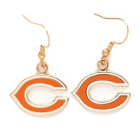 Chicago Bears Logo Wire Earrings - No Size