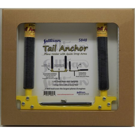 Drop Tail Design (Sullivan Products Tail Anchor Plane Holder with Drop Arms, SUL848 )