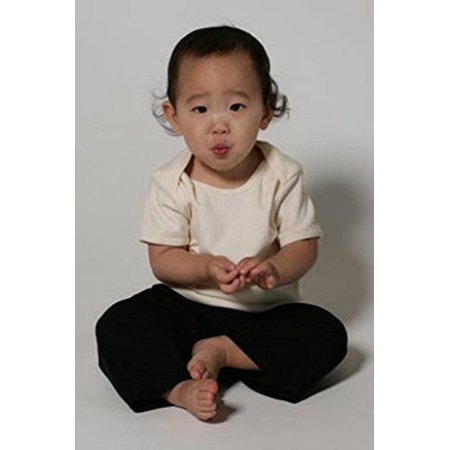 Boneless Short Ribs (Recycle A Tee Organic Cotton Baby Rib Short Sleeve Lap Shirt Boys & Girls (12-18 Months, Pink))