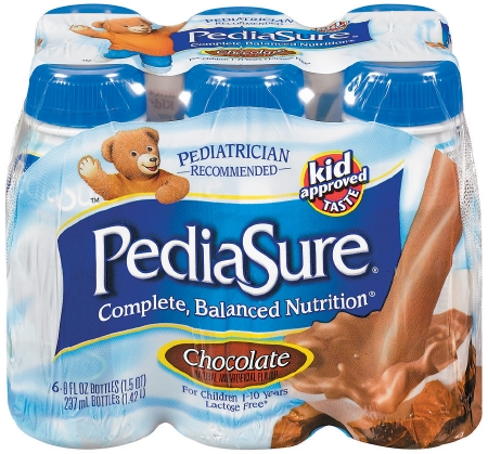 Pediatric Oral Supplement PediaSure Chocolate  Ready to Use, 8 oz, 1 Bottle