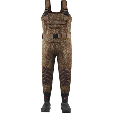 Oak Lacrosse Waders - Lacrosse Swamp Tuff Chest Wader Bottomland Camo King 1200G