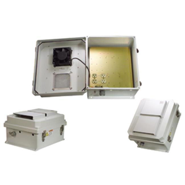 Hana Wireless HW-N14-1F 120 VAC 14 x 12 x 7 in. Weatherpr...