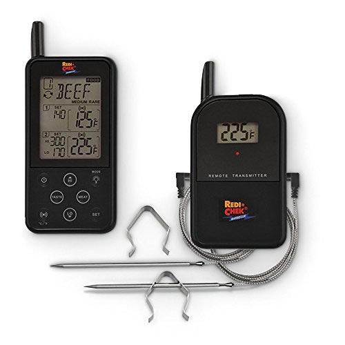 Maverick ET-733 BLACK  Long Range Wireless Dual Probe BBQ Smoker Meat Thermometer Set