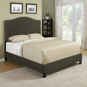 Handy Living  Nicci Basil Green Linen Queen Size Platform Bed