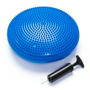 Black Mountain Products Exercise Balance Stability Disc with Hand Pump, Blue by Black Mountain Products