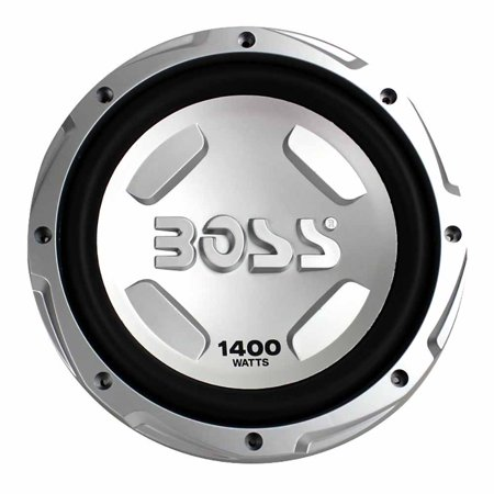 Boss Audio Chaos 12 Inch 1400 Watt 4 Ohm Car Audio Power Subwoofer |