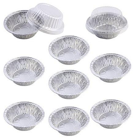 Pack Of 9 Mini Disposable Aluminum Foil Pot Pie Pans With