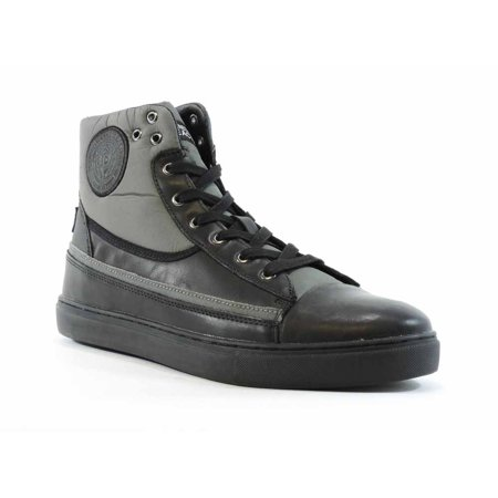 Kenneth Cole Men's Done-Zo Black Ankle-High Leather Fashion Sneaker - 10.5M