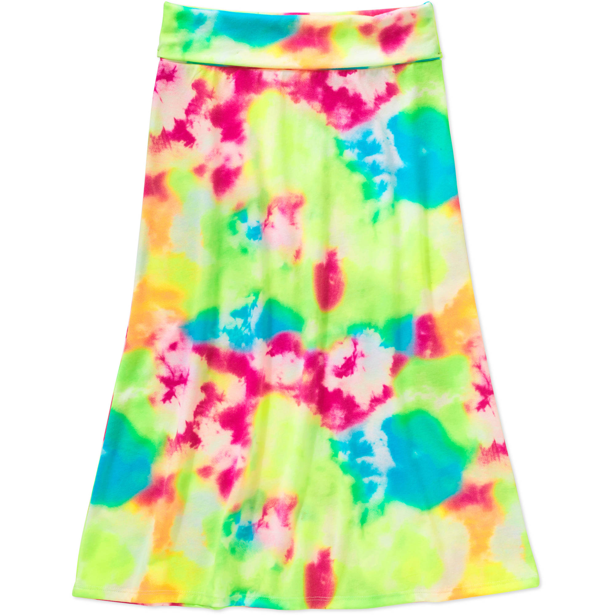 Faded Glory Girls'  Print Maxi Skirt