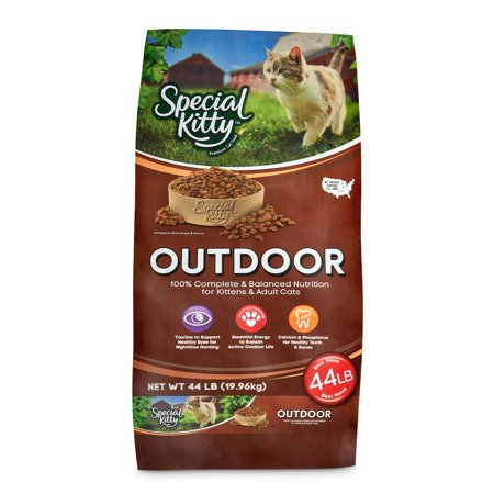 Special Kitty Outdoor Formula Dry Cat Food, 44 - Hello Kitty Food Ideas