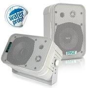 """PDWR40W - 5.25"""" Indoor/Outdoor Waterproof Speakers (White)"""