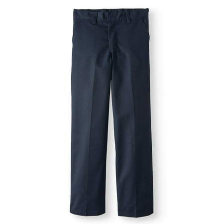 Genuine Dickies School Uniform Traditional School Style Classic Pants (Big Boys & Little - Dickies Scrubs Flare Pants