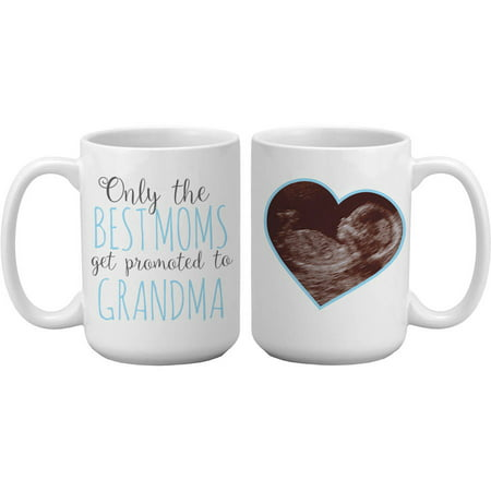 Personalized Get Promoted 15 oz Photo Coffee Mug, Available in 3 - Personalized Mug