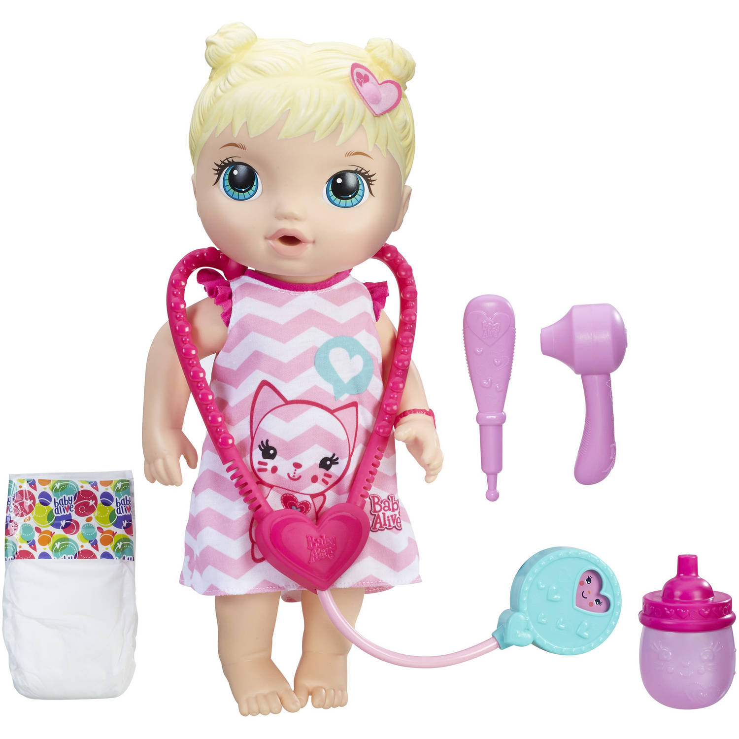 Baby Alive Better Now Bailey, Blonde Hair Doll, Ages 3 and up