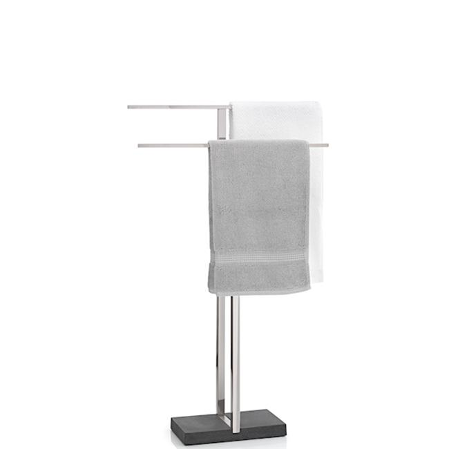 Blomus Menoto Towel Stand Holder Rack Robe Bath Organizer Air Dry Steel 68624 by Blomus