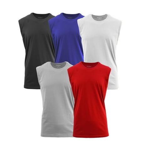 Men's Muscle Tank T-Shirt (5-PACK) ()
