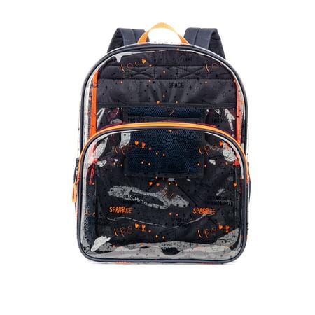 Wonder Nation Clear Boys Children Backpack