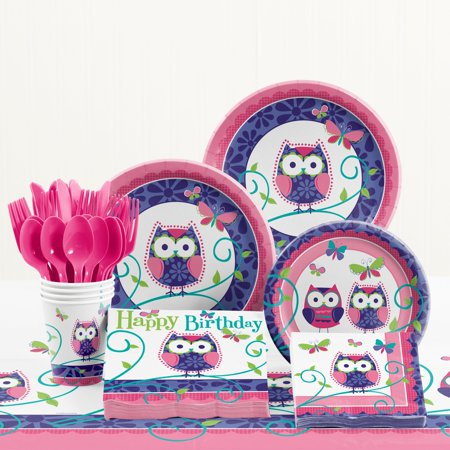 Owl Pal Birthday Party Supplies - Owl Themed Party Supplies