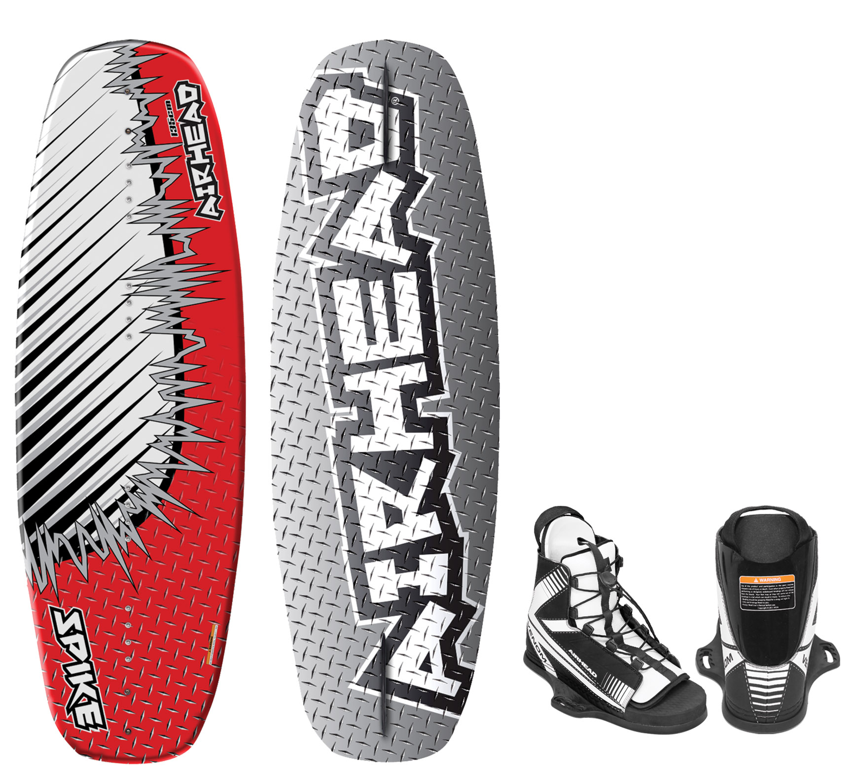 Airhead Spike Wakeboard with Goblin Bindings by AIRHEAD SPORTS GROUP