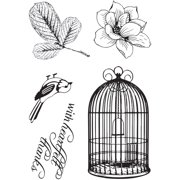 Magnolia Lane Stamp-Songbird