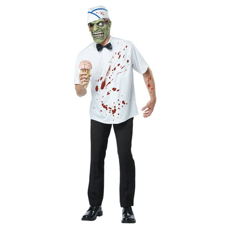 Adult Zombie I-Srream Man Costume California Costumes 01395 (Zombie Adult)