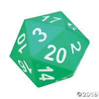 Learning Advantage™ 20-Sided Demonstration Dice