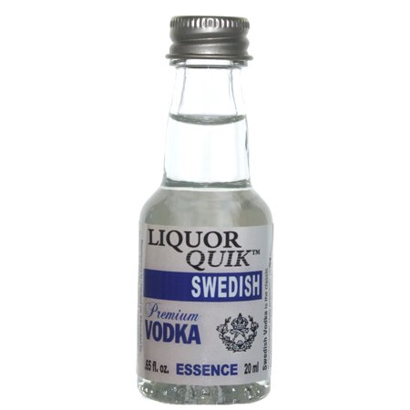 Liquor Quik Natural Vodka Essence 20 mL (Swedish Vodka) - Walmart.com