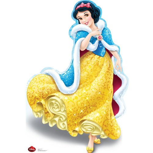 Advanced Graphics Snow White Holiday - Disney Cardboard Standup