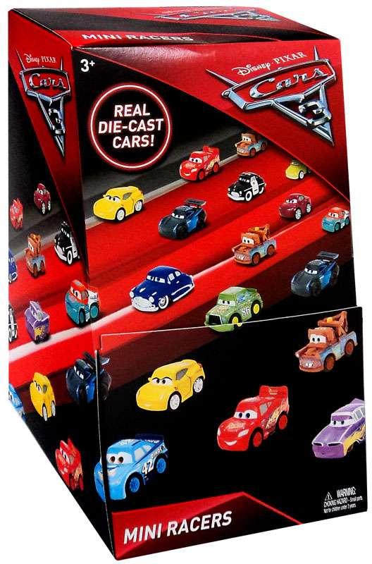 Disney Cars 3 Die Cast Mini Racers Mystery Box [36 Packs] by