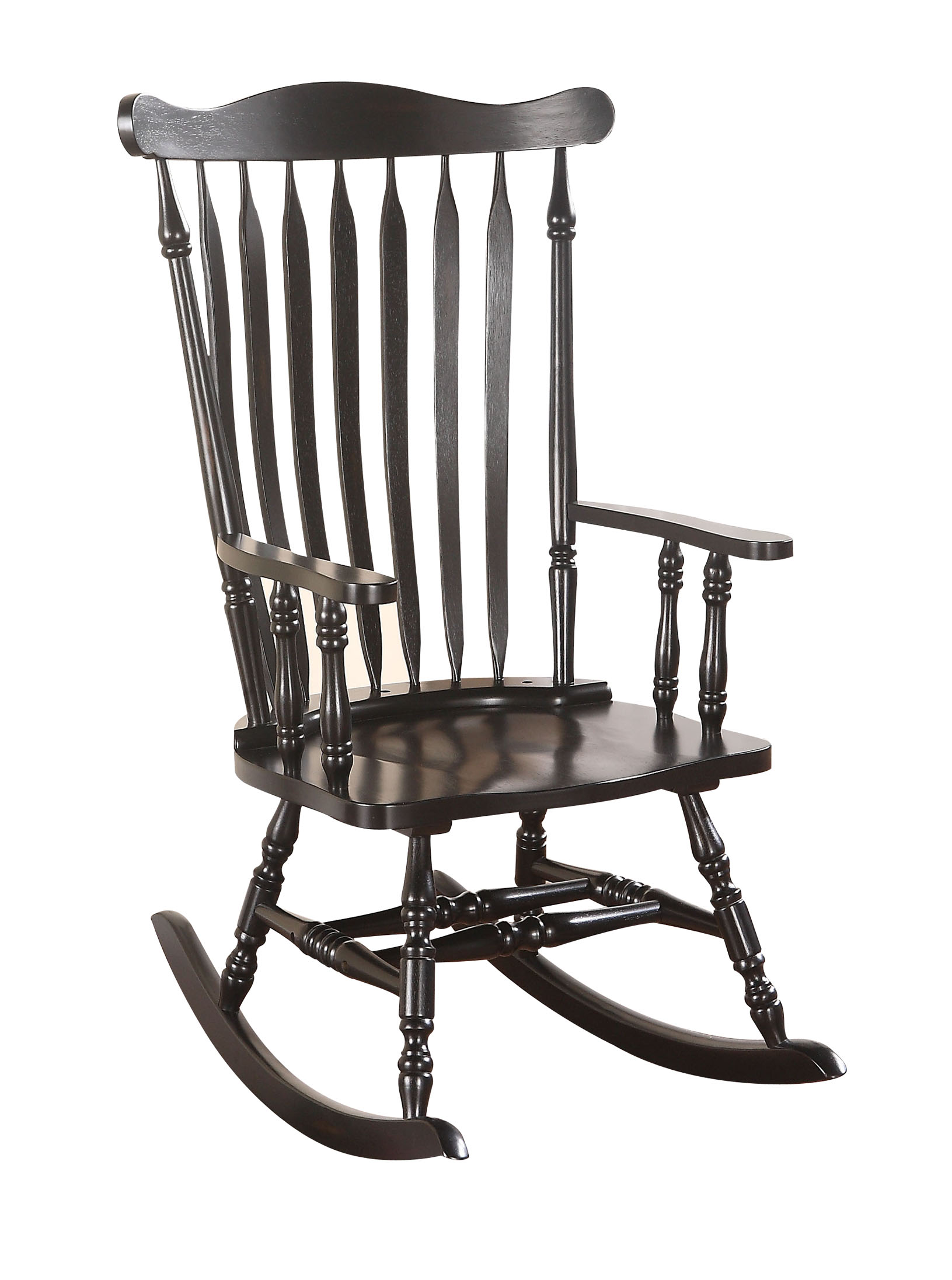 ACME Kieran Rocking Chair, Black by ACME Furniture
