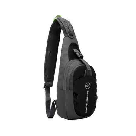 - Ktaxon Durable Waterproof Nylon Small Chest Bag - Outdoor Travel Sport Running Messenger Shoulder Bag, Sling Backpack