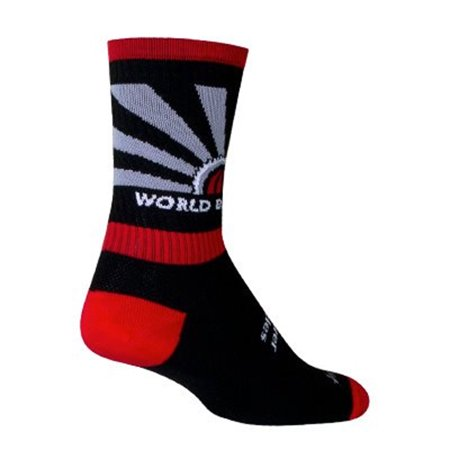SockGuy Crew 6in World Bicycle Relief Cycling/Running