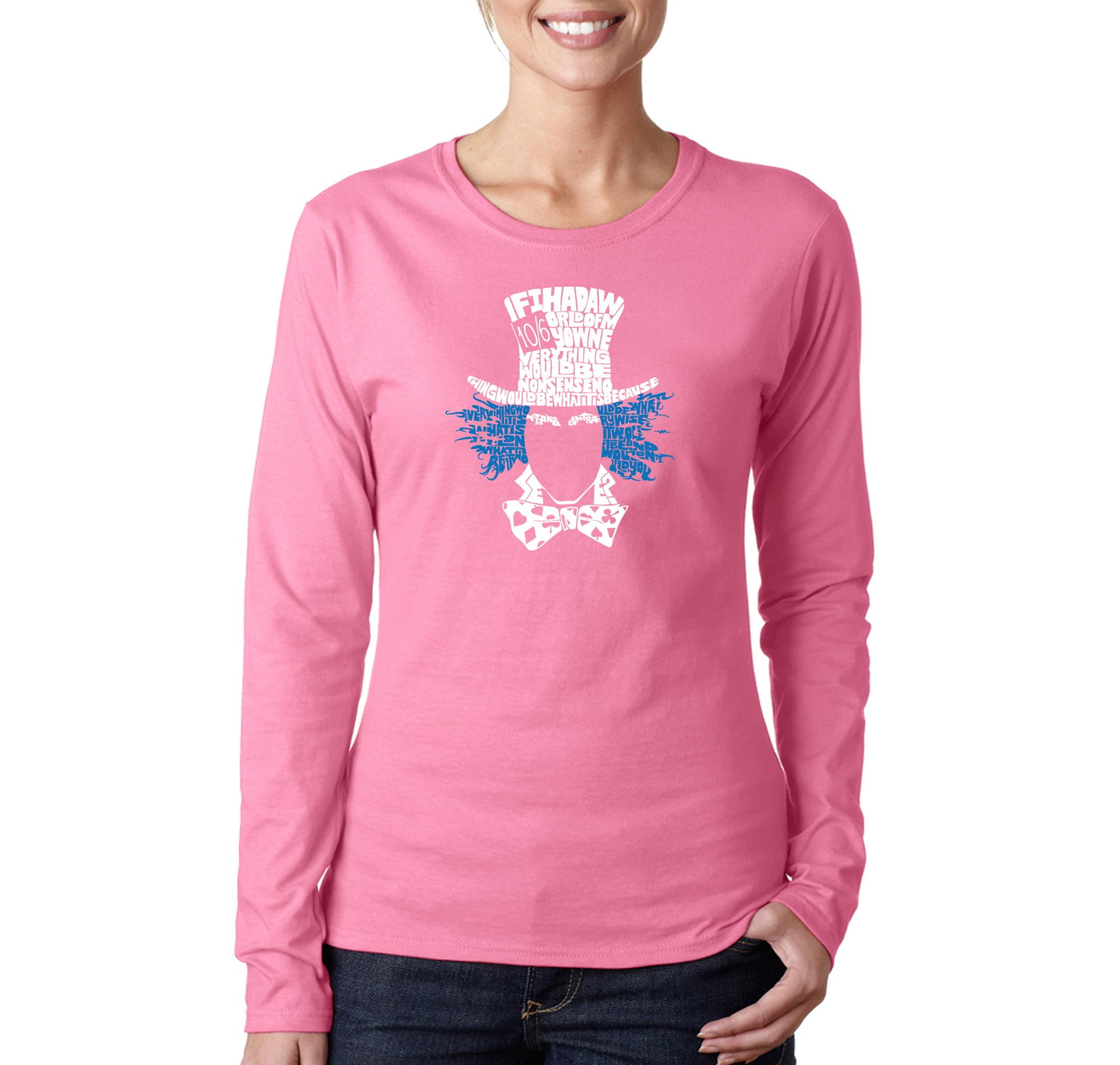 Ladies Details about  /Alice In Wonderland T-Shirt