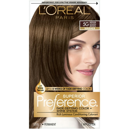 L'Oréal Paris Superior Preference Permanent Hair (Best Black Hair Dye For Brazilian Weave)