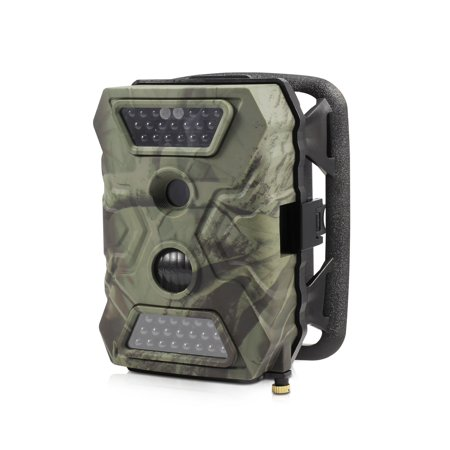OutbackCam: Wireless Trail Camera with 1080p Full HD Video & 12MP Still Photo, Night Vision & PIR Motion (Gel Trail Sensor)