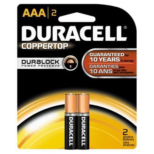Duracell CopperTop MN 2400 Battery ‑ AAA ‑ Alkaline
