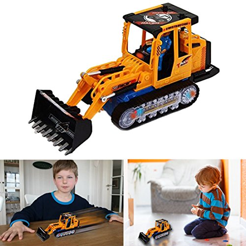 Dazzling Toys Bruder Construction Loader Truck Battery Operated Riding Tractor by dazzling toys