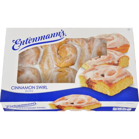 Entenmann's Cinnamon Swirl Buns, 6ct - Walmart.com