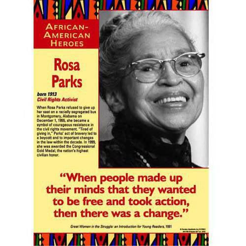 Edupress African American Heroes Poster Set